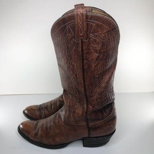 TONY LAMA Mens Cowboy Western Boots Brown